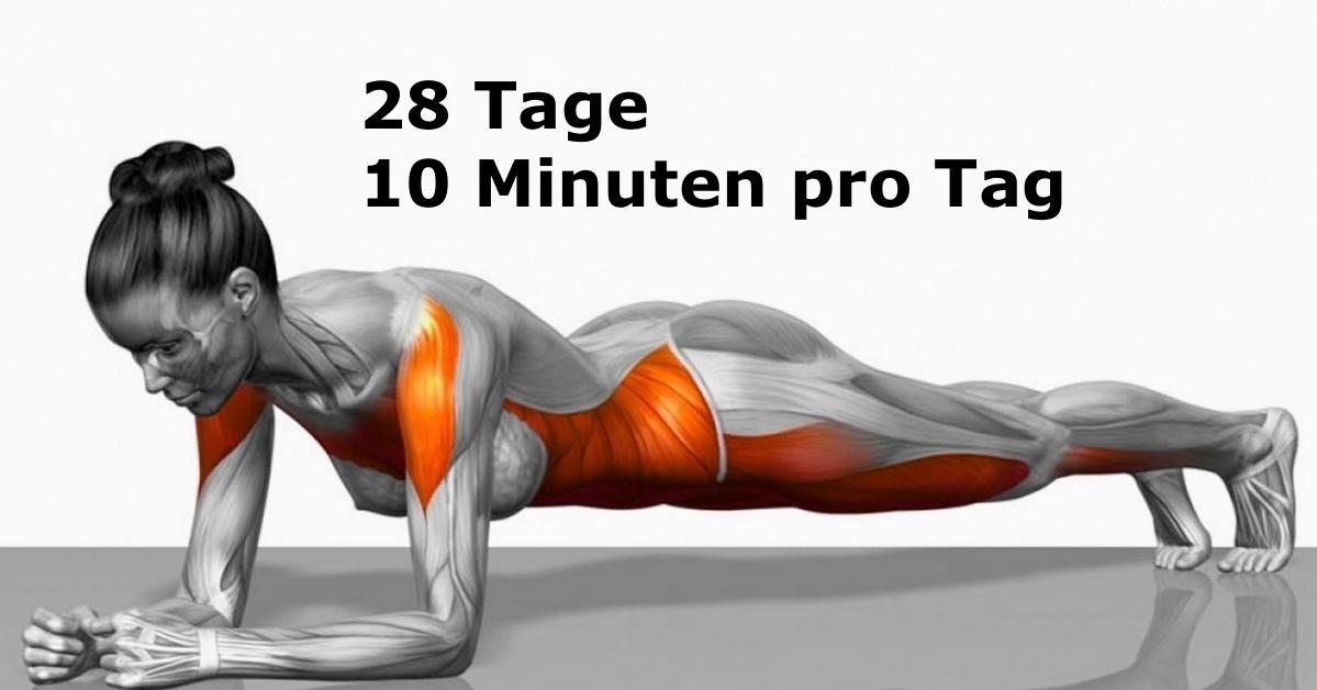 Mit diesen 7 einfachen Übungen kannst du deinen Körper in nur 4 ...