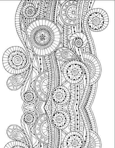 Buddhist Coloring Pages For Adults