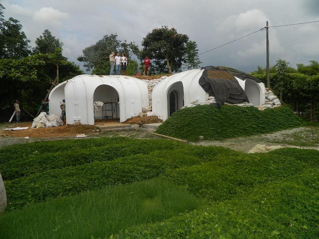 Dieses Vorgefertigte Und Umweltfreundliche Hobbit Haus Kann