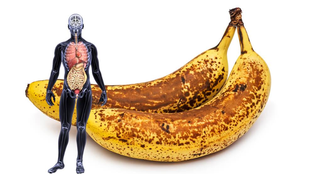das passiert wenn du einen monat lang jeden tag zwei reife bananen mit dunklen flecken isst. Black Bedroom Furniture Sets. Home Design Ideas