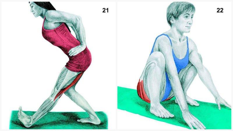 Heilsame Dehnübungen Diese 34 Bilder Zeigen Dir Welchen Muskel Du