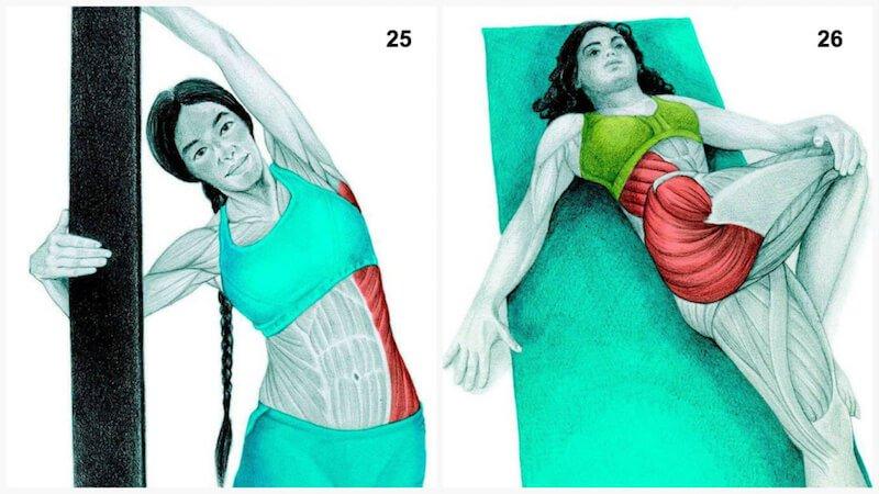 heilsame dehn bungen diese 34 bilder zeigen dir welchen muskel du dehnst informationen. Black Bedroom Furniture Sets. Home Design Ideas